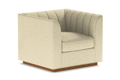 Nora Swivel Chair From Kyle Schuneman :: Leg Finish: Pecan