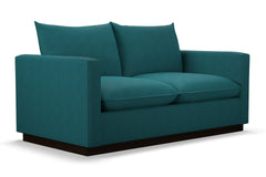 Olivia Apartment Size Sleeper Sofa :: Leg Finish: Espresso / Sleeper Option: Deluxe Innerspring Mattress