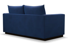 "Olivia Apartment Size Sofa :: Leg Finish: Espresso / Size: Apartment Size - 71""w"