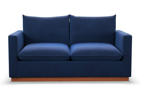 Olivia Apartment Size Sofa :: Leg Finish: Pecan / Size: Apartment Size - 71