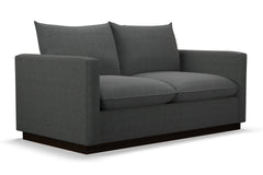 Olivia Apartment Size Sleeper Sofa :: Leg Finish: Espresso / Sleeper Option: Memory Foam Mattress
