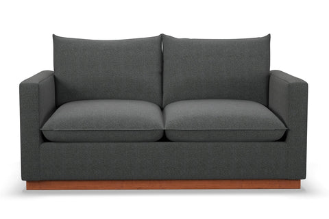 Olivia Loveseat :: Leg Finish: Pecan / Size: Loveseat - 60.5