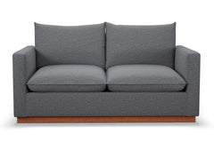 "Olivia Loveseat :: Leg Finish: Pecan / Size: Loveseat - 60.5""w"