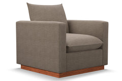 Olivia Chair :: Leg Finish: Pecan