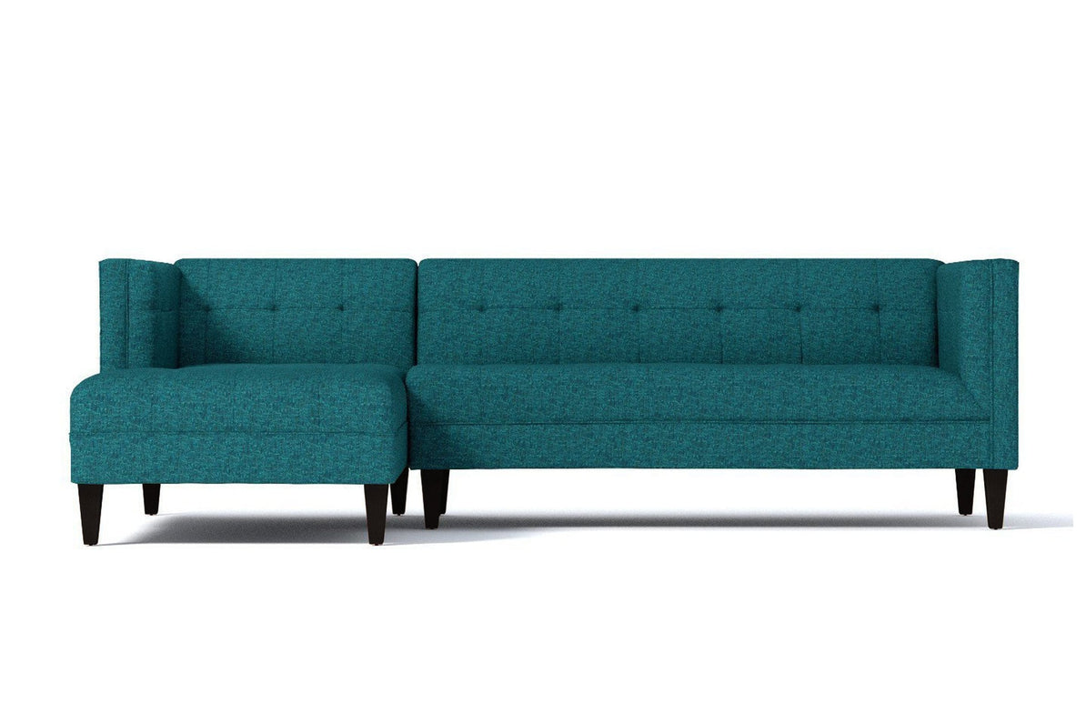 Pacific 2pc Sectional Sofa :: Leg Finish: Espresso / Configuration: LAF -  Chaise on the Left