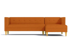 Pacific 2pc Sectional Sofa :: Leg Finish: Natural / Configuration: RAF - Chaise on the Right