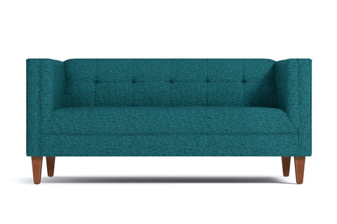 Pacific Apartment Size Sofa :: Leg Finish: Pecan / Size: Apartment Size - 72