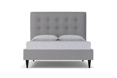Palmer Drive Upholstered Bed :: Leg Finish: Espresso / Size: Queen