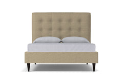 Palmer Drive Upholstered Bed :: Leg Finish: Espresso / Size: Full