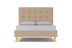 Palmer Drive Upholstered Bed :: Leg Finish: Natural / Size: Full