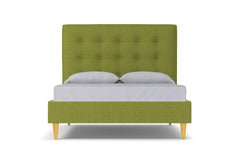 Palmer Drive Upholstered Bed :: Leg Finish: Natural / Size: King