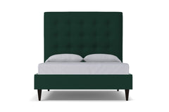 Palmer Upholstered Bed :: Leg Finish: Espresso / Size: Eastern King