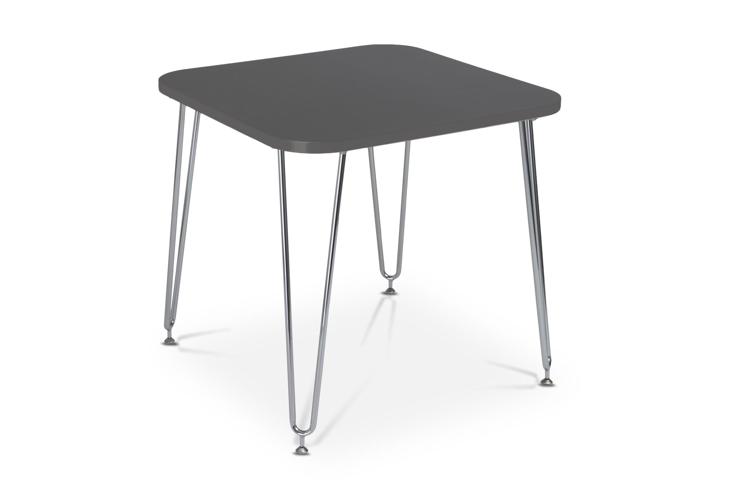 Rosemead Table GRAY/CHROME - Modern Dining Tables Sold by Apt2B