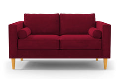 "Samson Loveseat :: Leg Finish: Natural / Size: Loveseat - 60""w"
