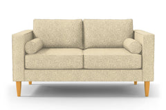 "Samson Apartment Size Sofa :: Leg Finish: Natural / Size: Apartment Size - 74""w"