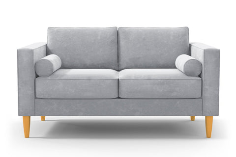 Samson Apartment Size Sofa :: Leg Finish: Natural / Size: Apartment Size - 74