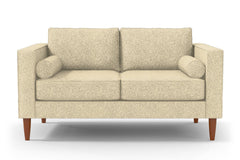 "Samson Apartment Size Sofa :: Leg Finish: Pecan / Size: Apartment Size - 74""w"