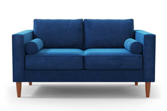 "Samson Loveseat :: Leg Finish: Pecan / Size: Loveseat - 60""w"