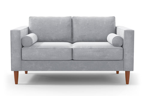 Samson Apartment Size Sofa :: Leg Finish: Pecan / Size: Apartment Size - 74