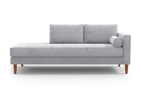 Samson Sofa Lounger :: Leg Finish: Pecan / Configuration: RAF - Right Arm Facing