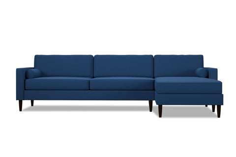 Samson 2pc Sectional Sofa :: Leg Finish: Espresso / Configuration: RAF - Chaise on the Right