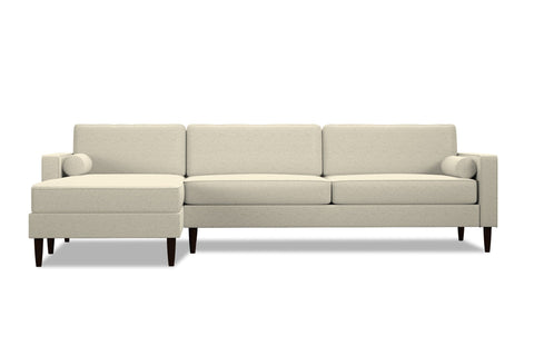 Samson 2pc Sectional Sofa :: Leg Finish: Espresso / Configuration: LAF - Chaise on the Left