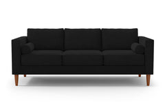Samson Sofa :: Leg Finish: Pecan