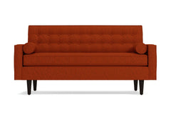 "Saturn Loveseat :: Leg Finish: Espresso / Size: Loveseat - 56.5""w"