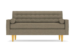 "Saturn Loveseat :: Leg Finish: Natural / Size: Loveseat - 56.5""w"