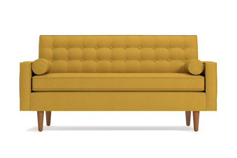 Saturn Loveseat :: Leg Finish: Pecan / Size: Loveseat - 56.5