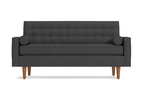 Saturn Apartment Size Sofa :: Leg Finish: Pecan / Size: Apartment Size - 68.5
