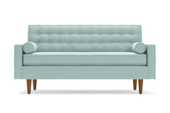 "Saturn Apartment Size Sofa :: Leg Finish: Pecan / Size: Apartment Size - 68.5""w"