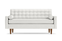 "Saturn Loveseat :: Leg Finish: Pecan / Size: Loveseat - 56.5""w"