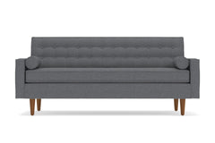 Saturn Sofa :: Leg Finish: Pecan