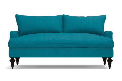Saxon Apartment Size Sofa :: Leg Finish: Espresso / Size: Apartment Size - 72