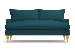 "Saxon Apartment Size Sofa :: Leg Finish: Natural / Size: Apartment Size - 72""w"