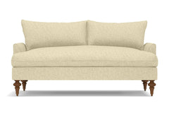 "Saxon Loveseat :: Leg Finish: Pecan / Size: Loveseat - 66""w"