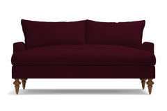 "Saxon Apartment Size Sofa :: Leg Finish: Pecan / Size: Apartment Size  - 72""w"