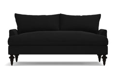 "Saxon Loveseat :: Leg Finish: Espresso / Size: Loveseat - 66""w"