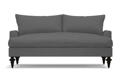 "Saxon Apartment Size Sofa :: Leg Finish: Espresso / Size: Apartment Size - 72""w"