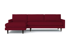 Scott 2pc Sectional Sofa :: Leg Finish: Espresso / Configuration: LAF - Chaise on the Left
