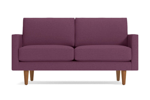 Scott Loveseat :: Leg Finish: Pecan / Size: Loveseat - 56