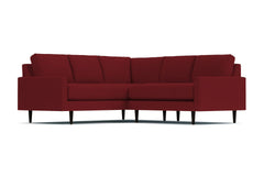 Scott 2pc L-Sectional Sofa :: Leg Finish: Espresso