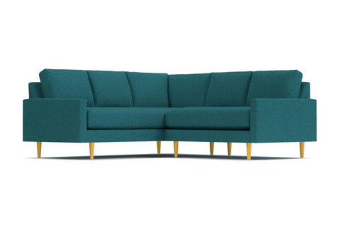 Scott 2pc L-Sectional Sofa :: Leg Finish: Natural