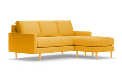 Scott Reversible Chaise Sofa :: Leg Finish: Natural