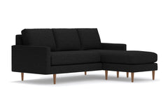 Scott Reversible Chaise Sofa :: Leg Finish: Pecan