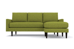 Scott Reversible Chaise Sofa :: Leg Finish: Espresso