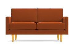 "Scott Loveseat :: Leg Finish: Natural / Size: Loveseat - 56""w"