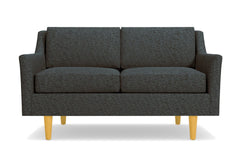 "Sutton Loveseat :: Leg Finish: Natural / Size: Loveseat - 56.5""w"