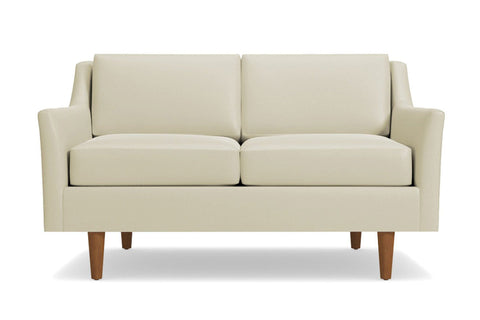Sutton Loveseat :: Leg Finish: Pecan / Size: Loveseat - 56.5